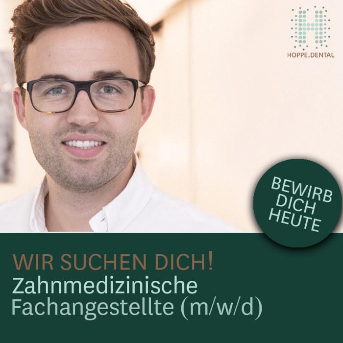 Stellenangebot - Zahnmedizinische Fachangestellte (m w d) - Hoppe.dental Korschenbroich